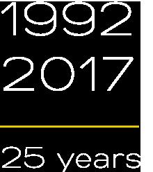 1997-2015 – 25 years